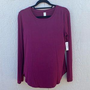 Purple/Magenta Old Navy Blouse